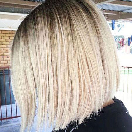 Blonde Bob Balayage Highlights 207 Wavy Simple Short