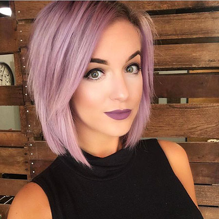 Purple Bob Colour Chrisspy Blue Blonde