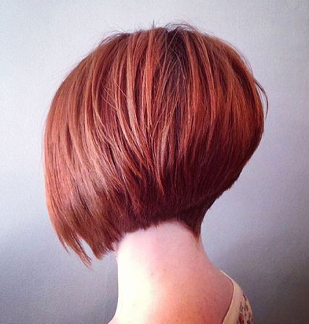 Bob Inverted Graduated Fine Bobs Tapered Stacked