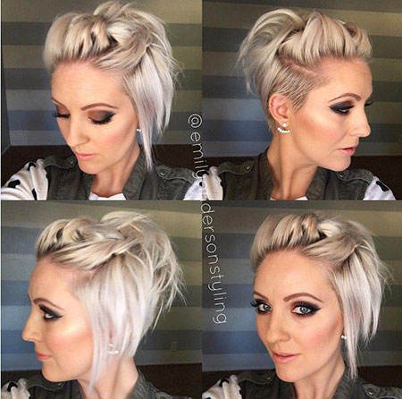 Short Summer Pixie Girls Updos Quick Fun Frisyrer