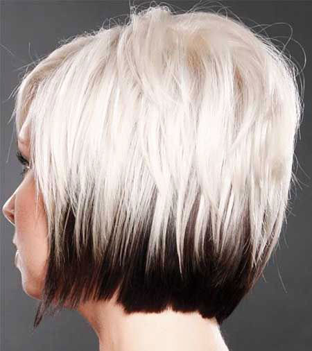 Short Colors Bobs Bob Blonde Women Summer