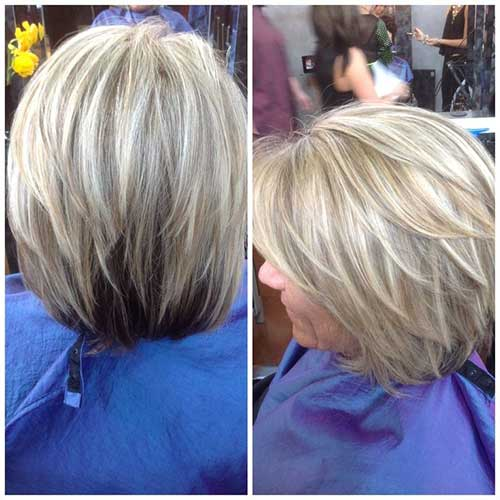 Older Women Bob Hair Cuts