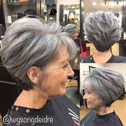 Older Women Bob Hair Styles