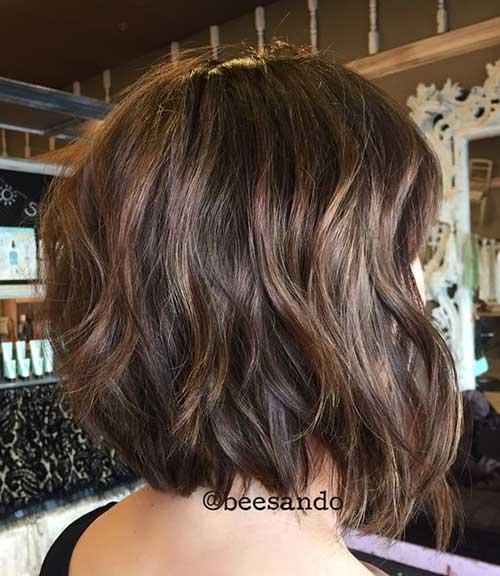 Wavy Bob Hair Styles