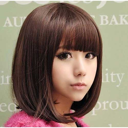 Bob Haircuts with Bangs-6