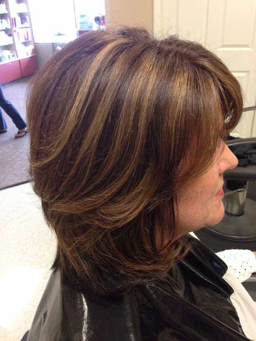 Bob Hairstyles for Older Ladies-7