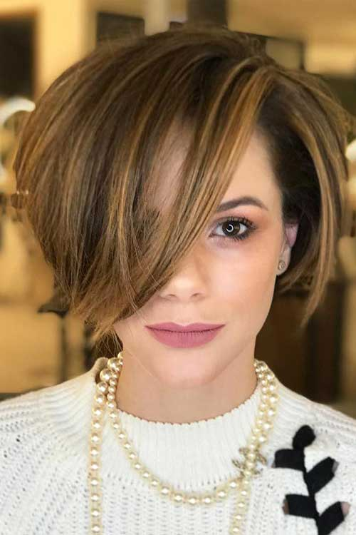 Bob Haircuts with Bangs-8
