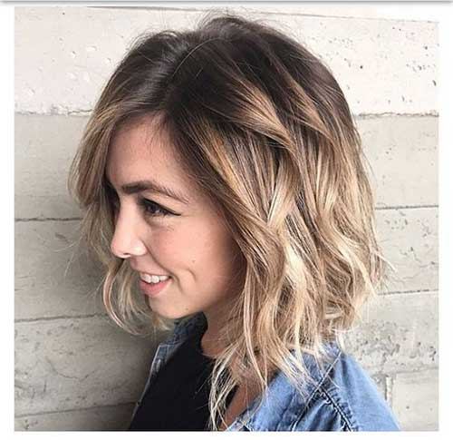 Chic Wavy Bob Hairstyles For Ladies Bob Hairstyles 2018