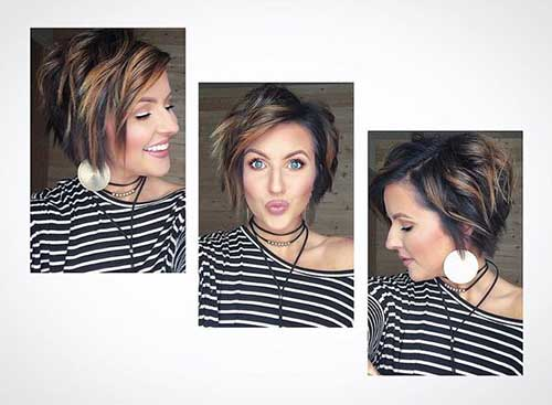Bob Haircuts for Rounded Face-15