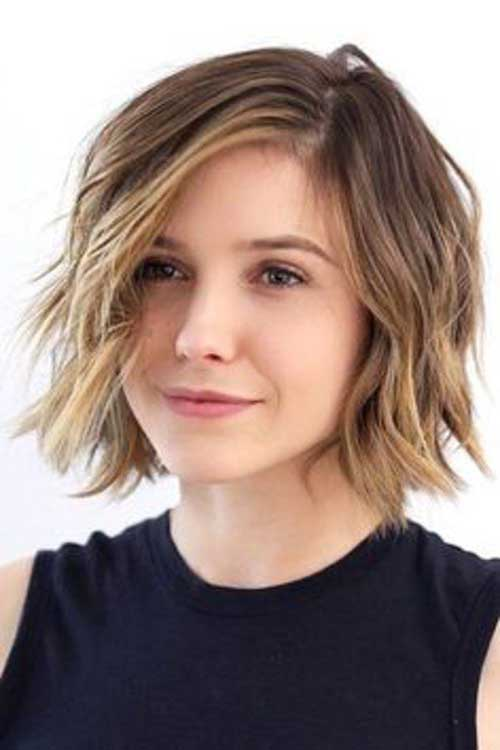 Bob Haircuts for Rounded Face-6