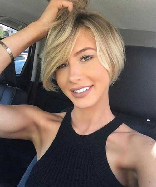 Bob Haircuts for Rounded Face-7
