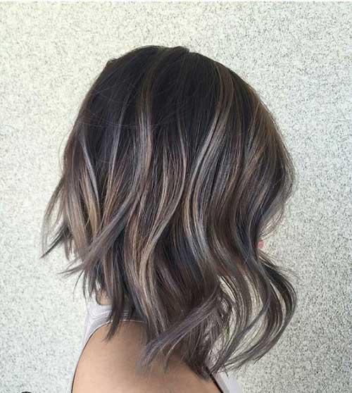 Angled Bob Hair