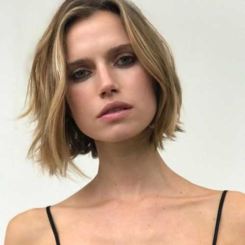 Bob Haircuts Rounded Face