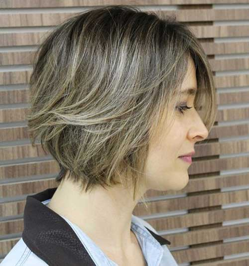 Layered Bob Hair Cuts