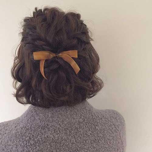 Updos for Bob Hair