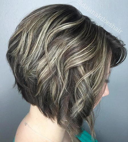 Bob Ash Blonde Layered