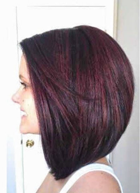 Bob Long Color Brunette