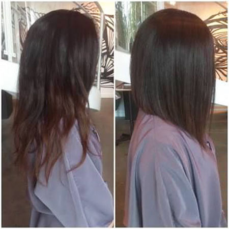 Hair Bob Angled Color