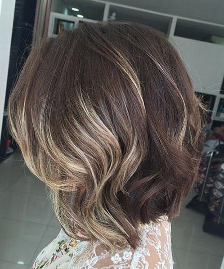 Balayage Hair Thick Length
