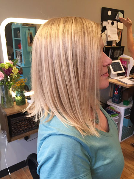 Bob Blonde Hair Balayage