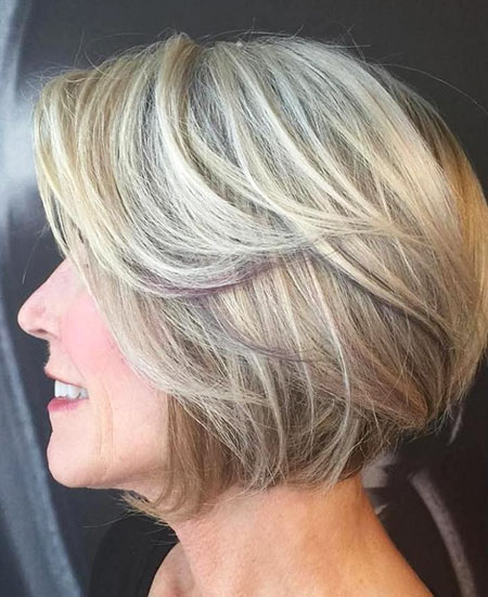 Bob Haircut For Older Women Bob Haircut And Hairstyle Ideas
