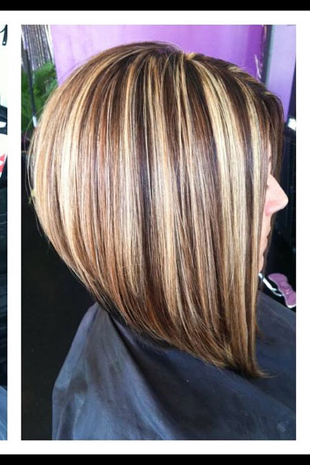 Bob Hair Color, Bob Stacked Color Haircuts