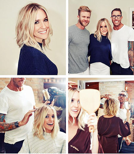Kristin Cavallari Hair, Length Lob Bob Soft