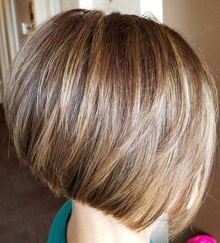 Brown Highlights, Bob Blonde Honey Brown