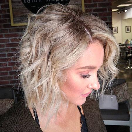 Blonde Bob Fine Hair