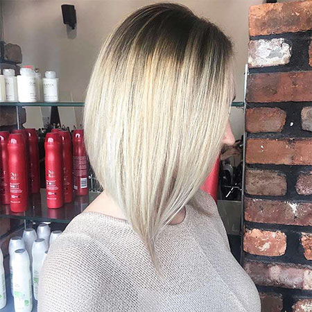 Blonde Hair Medium Length