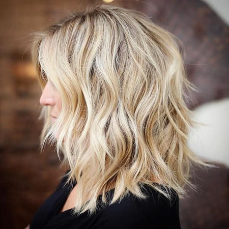 Blonde Hair Balayage Medium