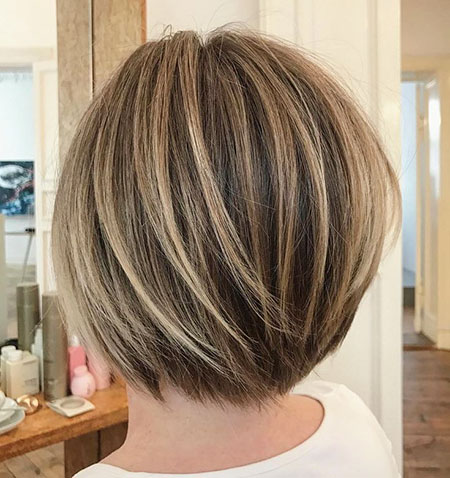 Bob Layered Balayage Short