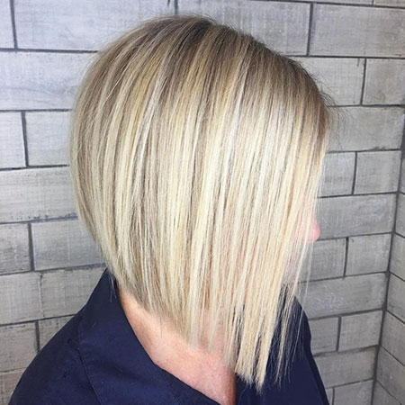 Blonde Bob Balayage Thin