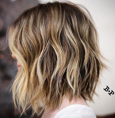 18 medium choppy bob hairstyles  bob haircut and