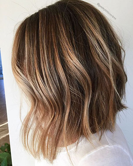 Brown Balayage Light Color