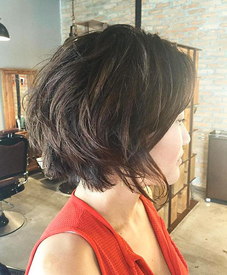 Layered Bob Dark Brown