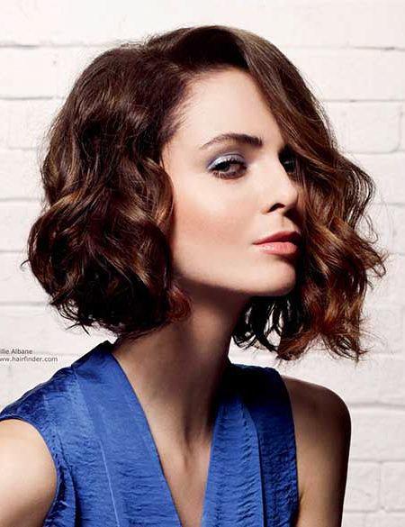 Hair Bob Curly Selena