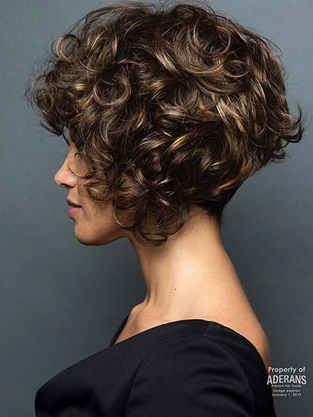 Curly Paris Nape Hair