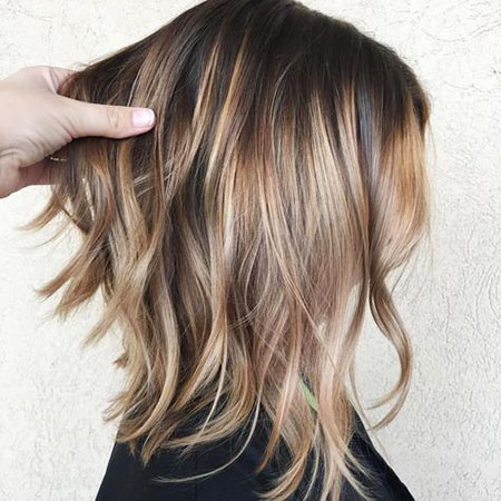 Balayage Bronde Thin Color