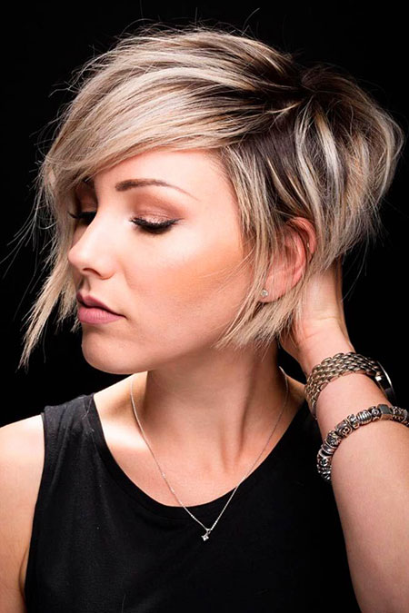 Short Pixie Layered Cut