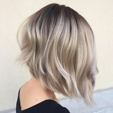 Bob Blonde Balayage Thin