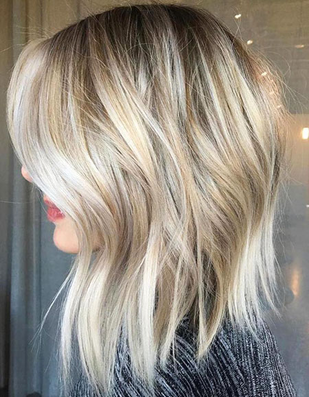 Blonde Balayage Hair Razor