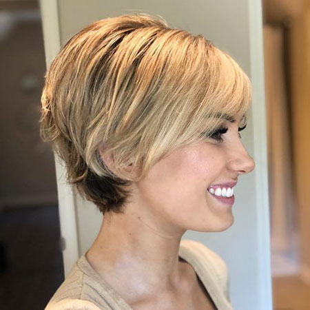 Short Hair Fine Pixie