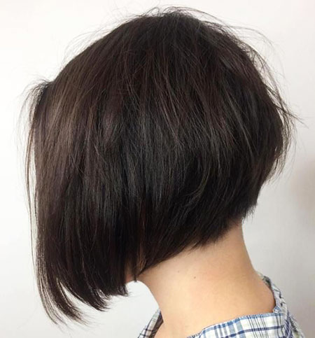 Bob Layered Stacked Haircuts