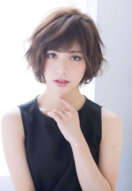 Short Bob Hair Bangs