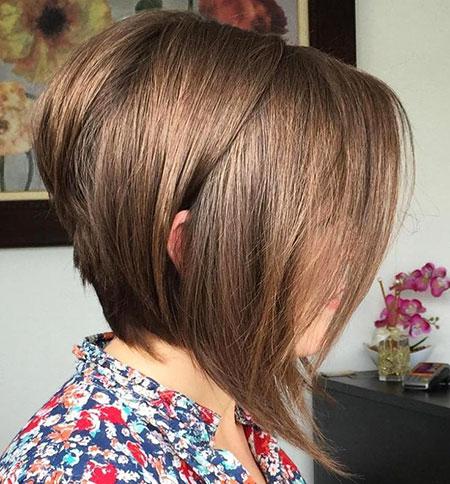 Layered Hair, Bob Short Layered Hair