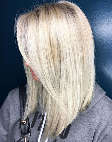 Blonde Hair, Blonde Bob Medium Platinum