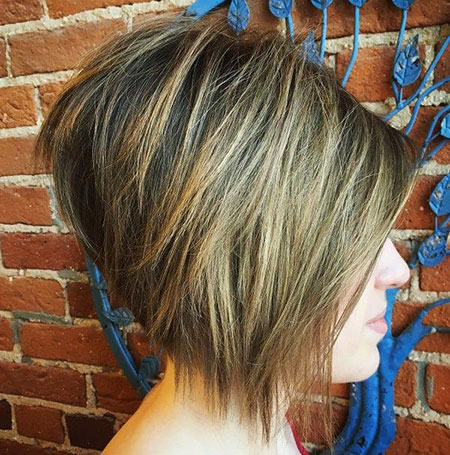 Bob Layered Balayage Straight