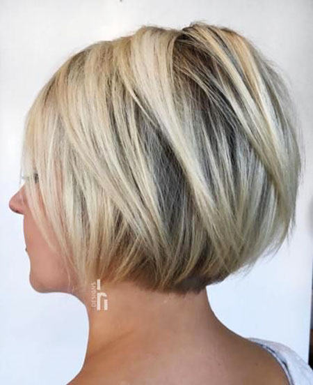 Bob Blonde Length Layered