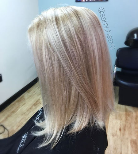 Blonde Bob Platinum White